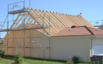 Transformation de charpentes toul 54 sur l vation de toiture et modificati - Cout refaire toiture ...